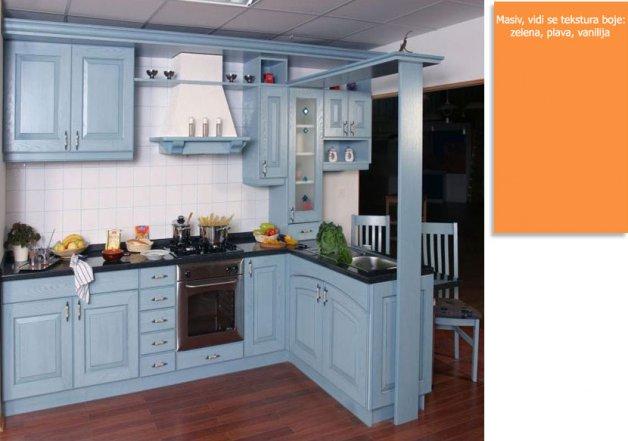 Nameštaj po meri - Kuhinje - Iverko plus k009