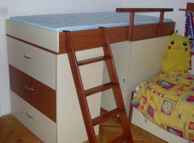 Nameštaj po meri - Sobe za decu i mlade - Iverko plus sdm047