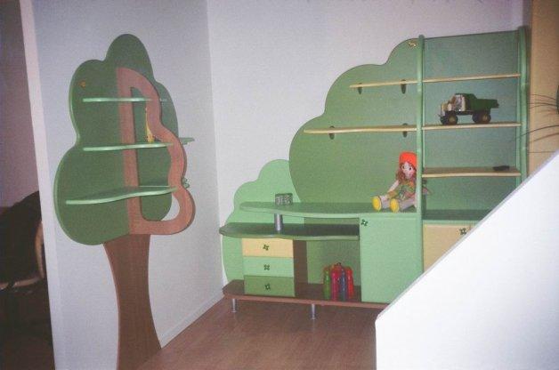 Nameštaj po meri - Sobe za decu i mlade - Iverko plus sdm007