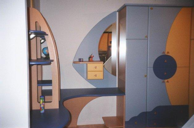 Nameštaj po meri - Sobe za decu i mlade - Iverko plus sdm010