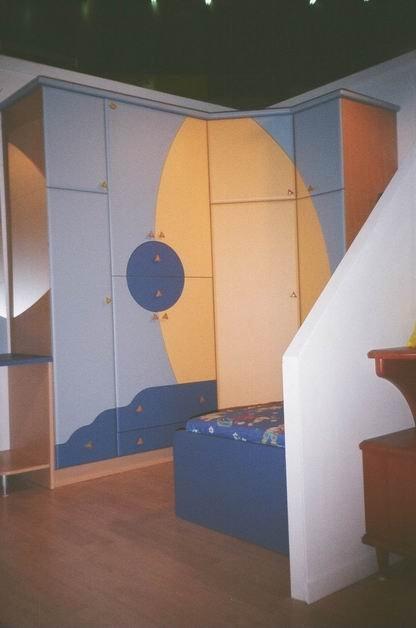 Nameštaj po meri - Sobe za decu i mlade - Iverko plus sdm011