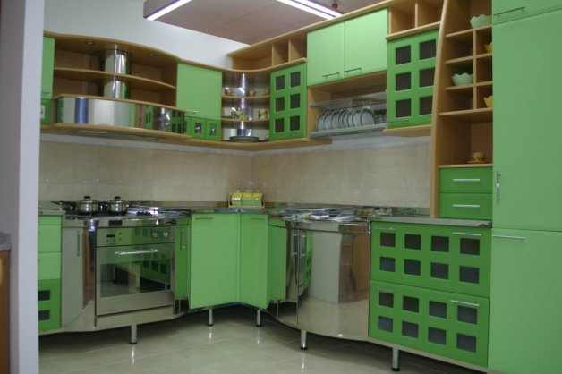 Nameštaj po meri - Kuhinje - Iverko plus k003